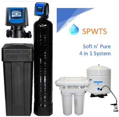 Simply Pure Water Treatment Systems, 4 in 1 Water Softener, 4 in 1 Water Softening, Whole House Water Softening